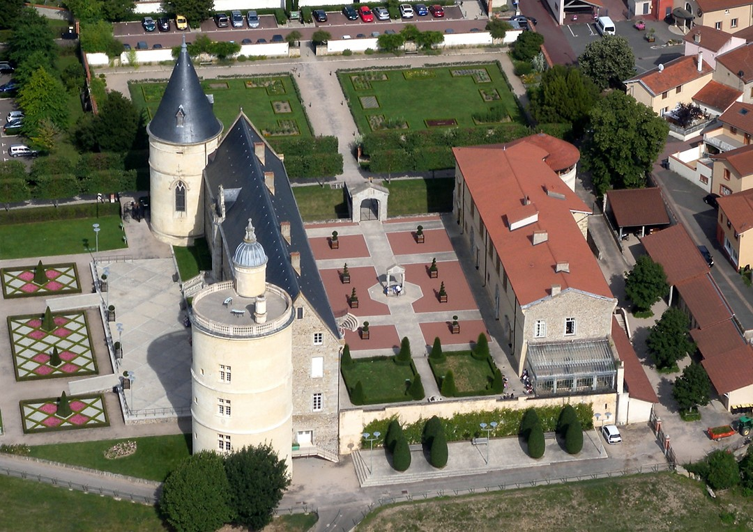 Chateau_vue aerienne_ouest